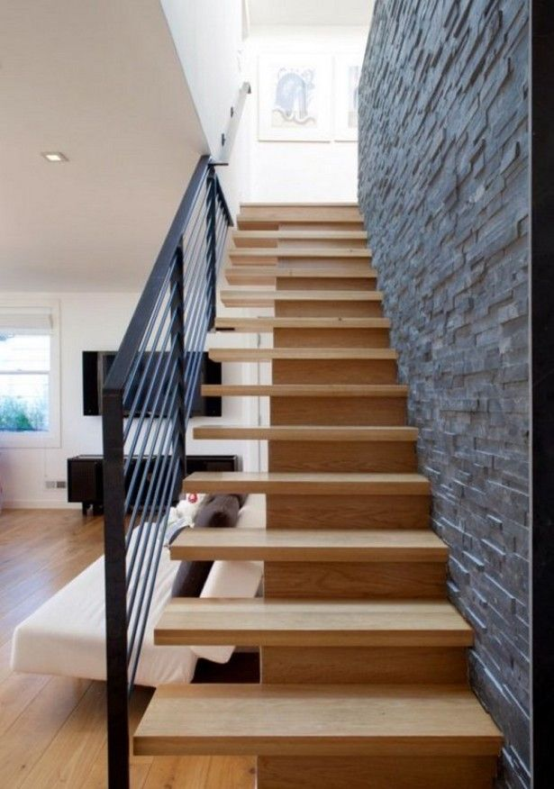 Decorating, Contemporary Stair Design With Wooden Flooring Ideas: Latest Stairs Design for House
