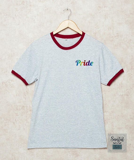 pride , gay , lgbt , gay pride , pocket shirt , santalside , shirt , tshirt , tee , t shirts , gift shirts , funny , casual , outfits , teenage , girls , women , ladies , outfit for teen , summer , fall , spring , hipster , school , party , polyvore , tumblr , instagram , graphic shirt , print shirt