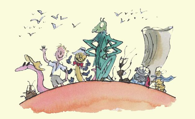 james and the giant peach miss spider book - photo #38