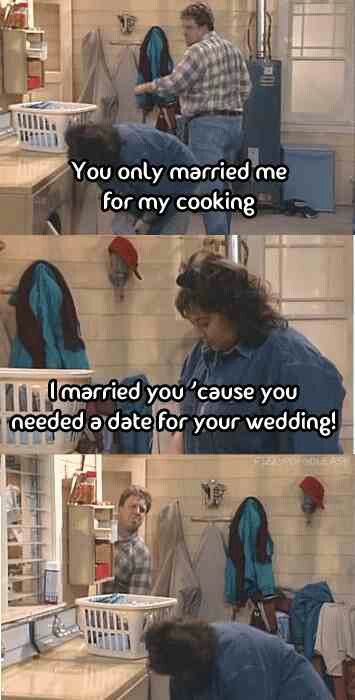 #funny #love #wedding | Roseanne Quotes
