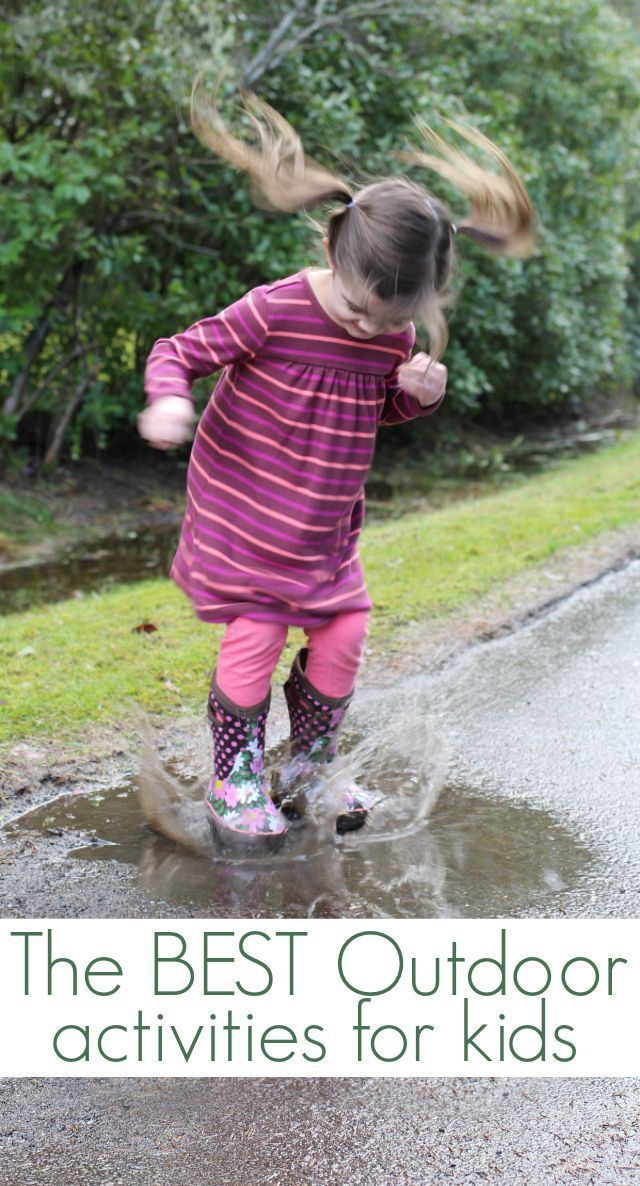 21 of the very best outdoor activities for kids you can do TODAY!