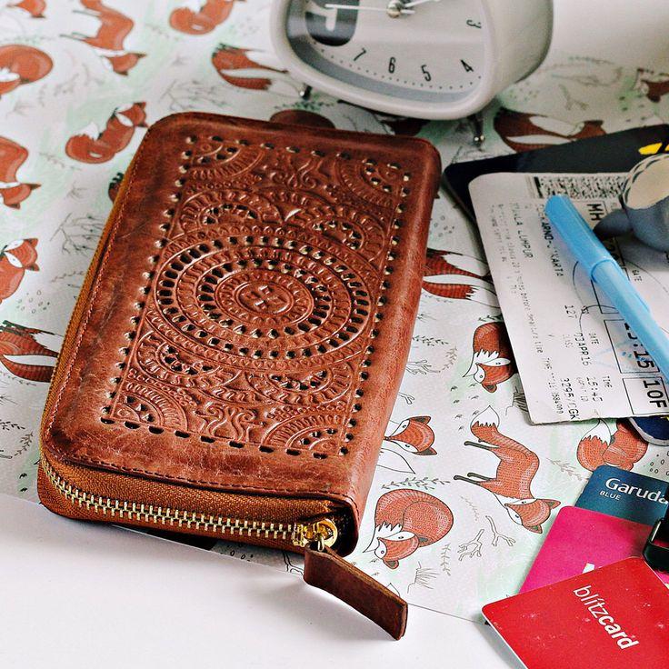 Mandala Bohemian Genuine Leather Women's Wallet Zipper Purse Phone Cards Dark Brown Purse Cards GIFT Women Wallet Smartphone Wallet by M0iWorld on Etsy https://www.etsy.com/listing/485200452/mandala-bohemian-genuine-leather-womens