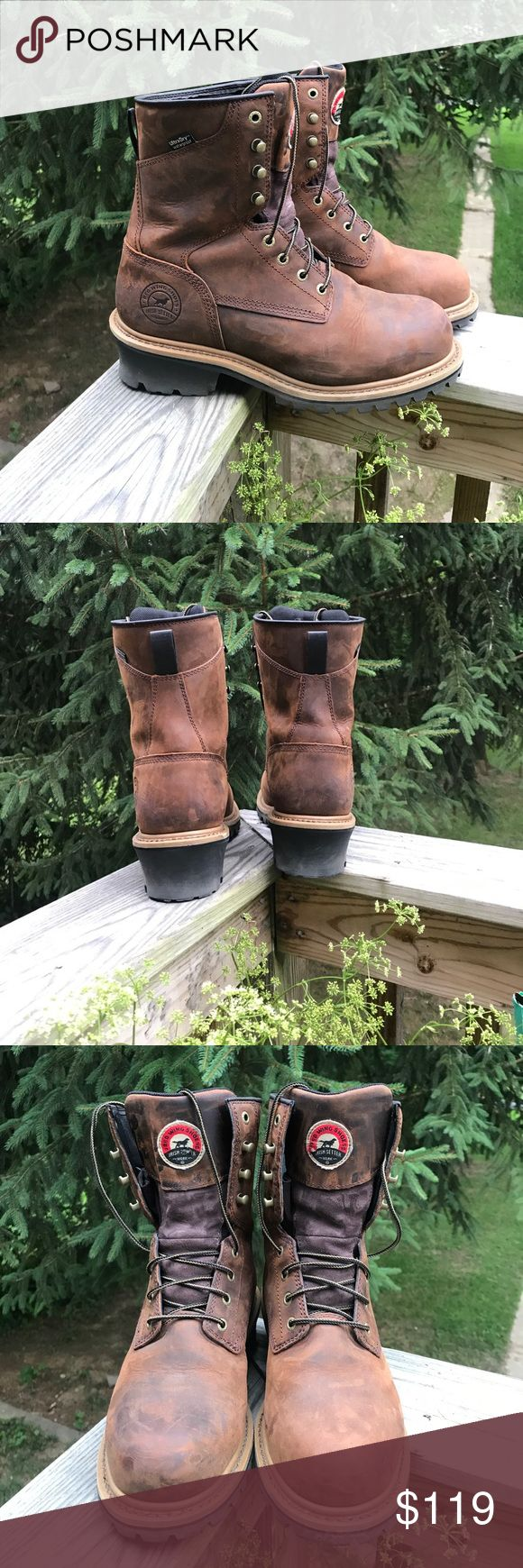 🇺🇸Red Wing Irish Setter Boots size 9.5EE Red Wing Irish setter steel toe boots **size 9.5 EE ** please see photos. Smoke free pet free home. Only owned for about a month and worn less than a handful of times. Red Wing Shoes Shoes Boots