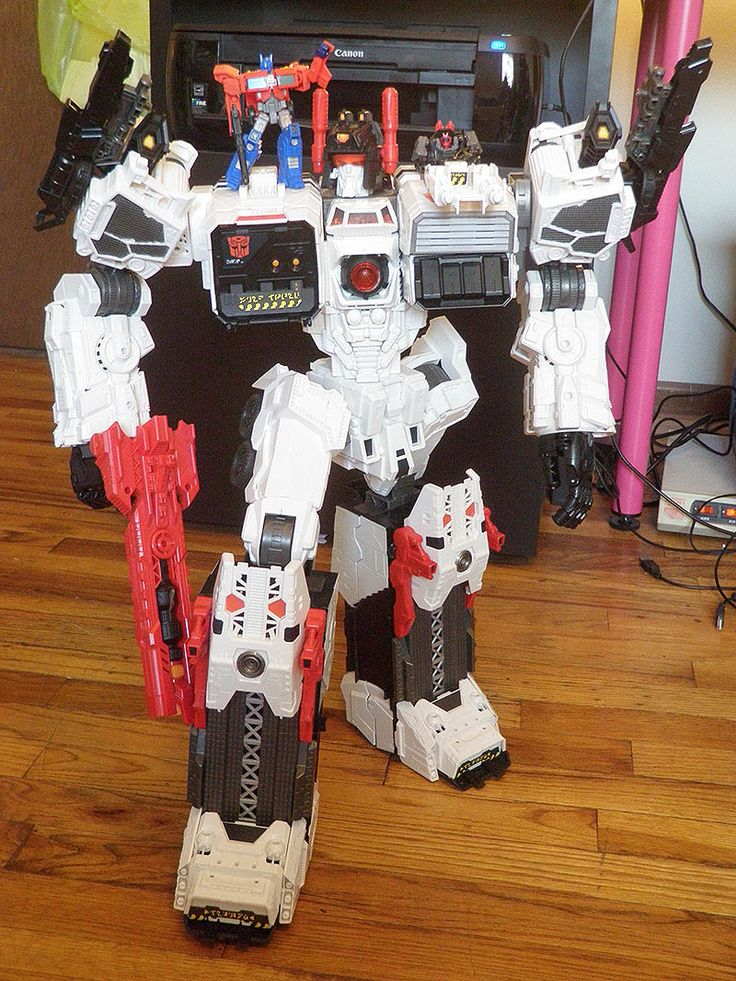 Metroplex. At over 2 feet tall, he's the largest Transformers toy, ever.