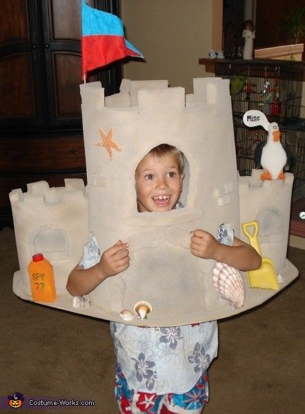 Sandcastle - DIY Halloween Costume