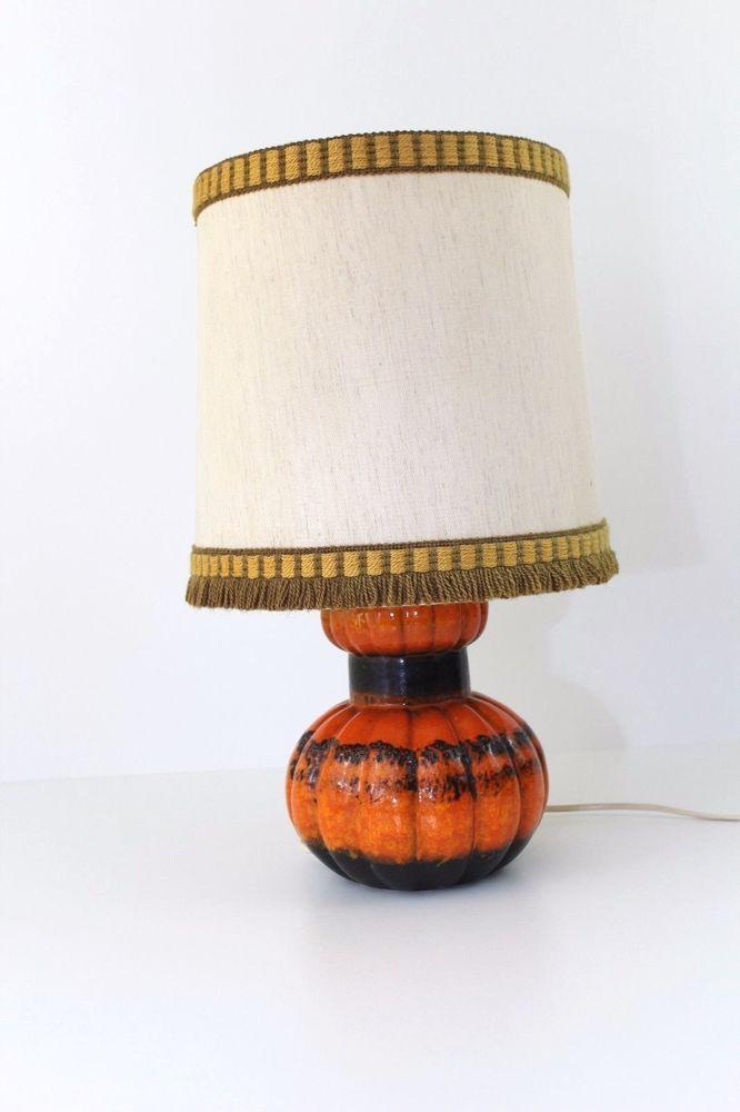 ✅ Kaiser Leuchten / Tischlampe / Fat Lava / Lampe / 70er Jahre  #O  | eBay
