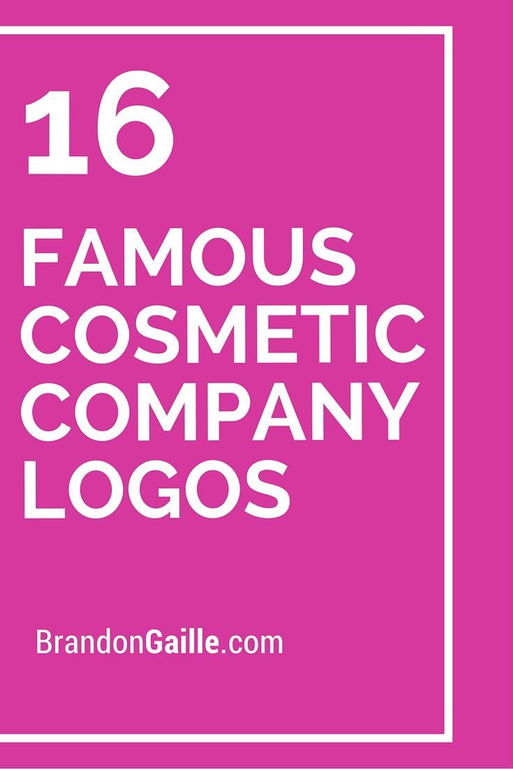 16 Famous Cosmetic Company Logos Logos And Names Logos Company