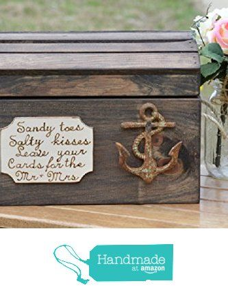 Beach Wedding Card Box - Nautical Wedding Reception Card Box from Yee Haw Hello http://smile.amazon.com/dp/B016HV3QOW/ref=hnd_sw_r_pi_awdo_FtVpxb06XFEG5 #handmadeatamazon