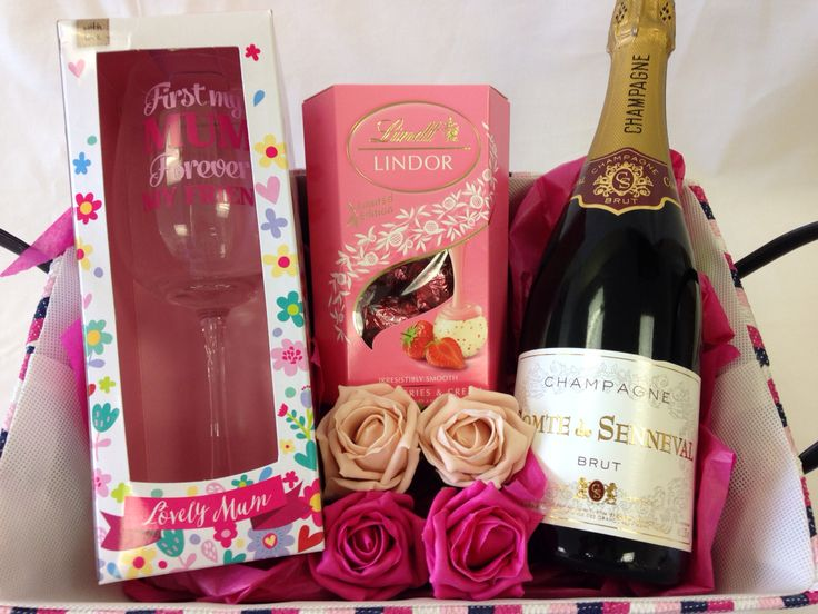 Mothers Day Champagne Hamper  Angel Surprise