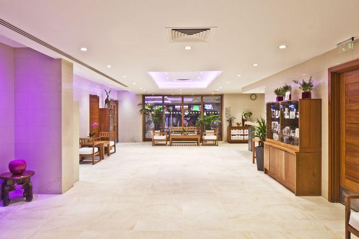 Ajala Spa Reception at Grange Tower Bridge Hotel #AjalaSpa #LuxurySpa