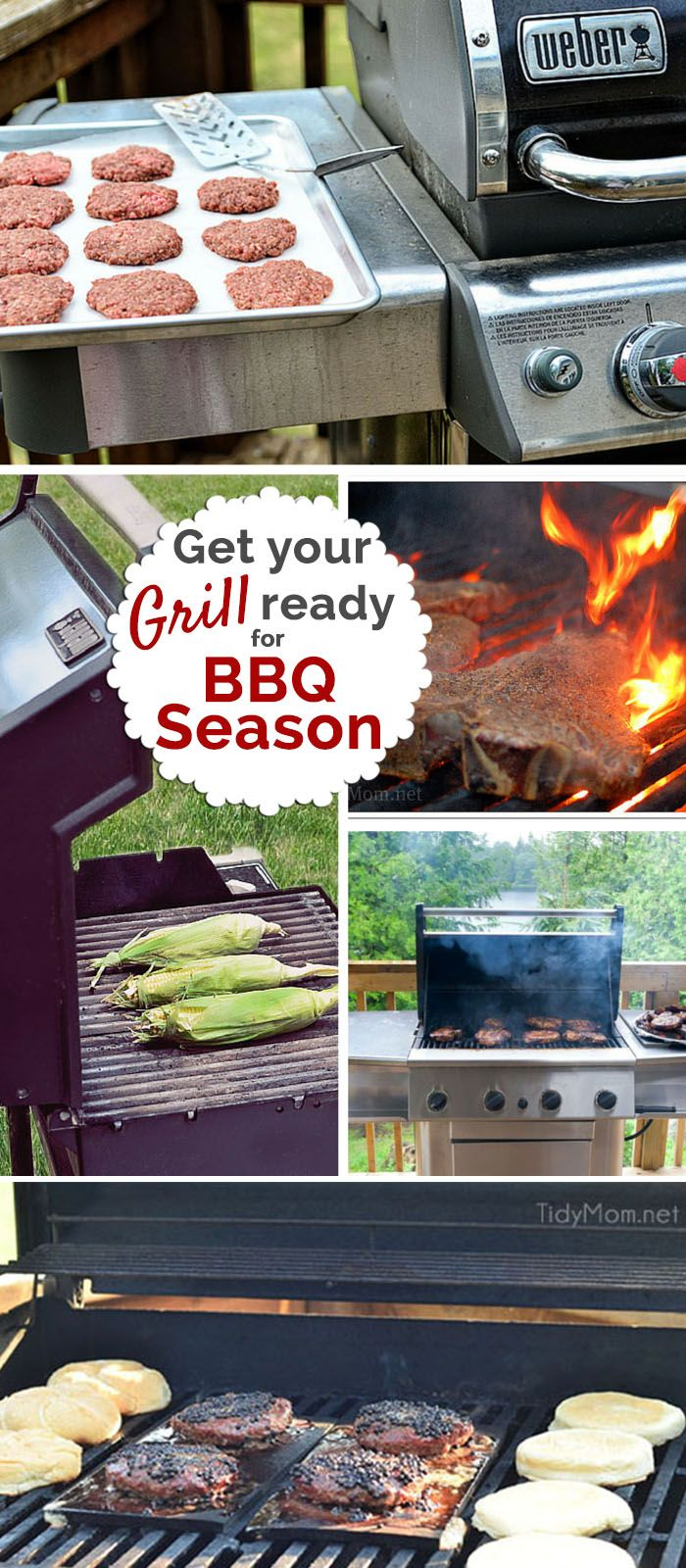Get Your Grill On ~ Get your grill ready for barbecue season seasons ribs