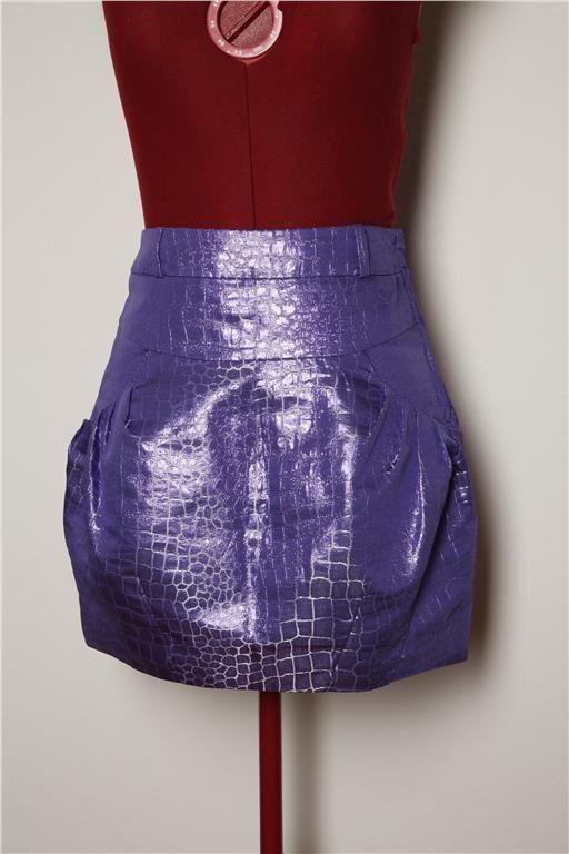 Metallic cool kjol på Tradera.com - Kjolar storlek 34/36 | Kjolar |