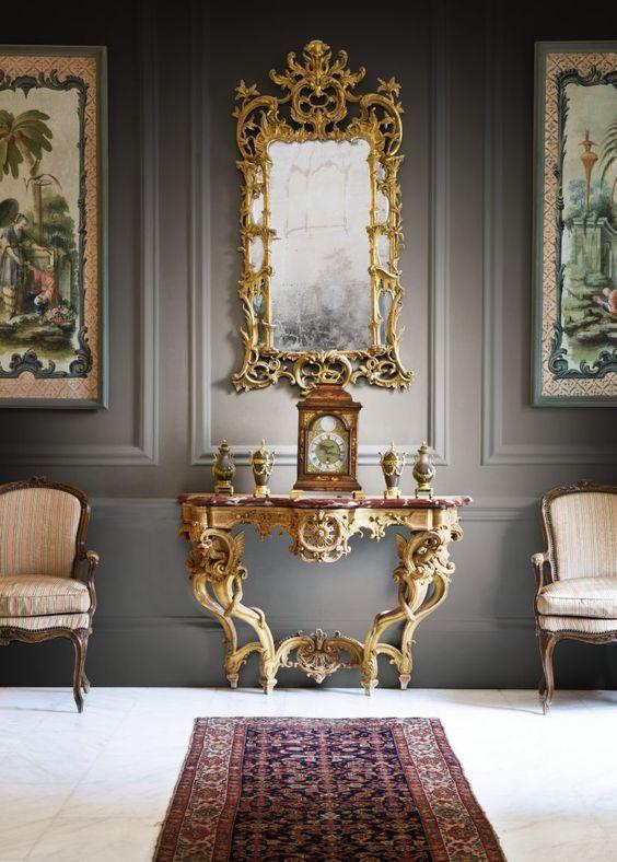 Image result for baroque boudoir eclectic frame