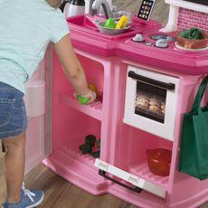 Step2 Great Gourmet Kitchen Playset - Soft Pink