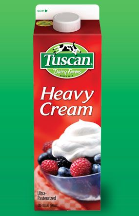 2 cartons of heavy cream. | Food Shopping List | Pinterest