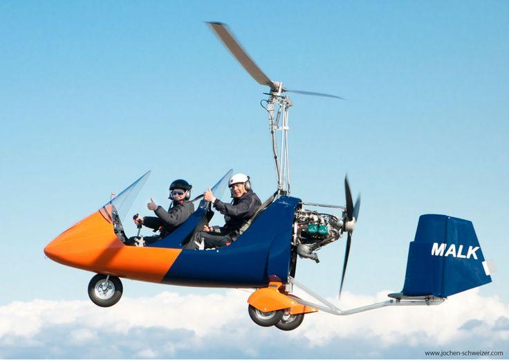 Schwebe durch die Luft mit einem #Tragschrauber ! #erlebnis #cool #fliegen #action #abenteuer a#drenalin
