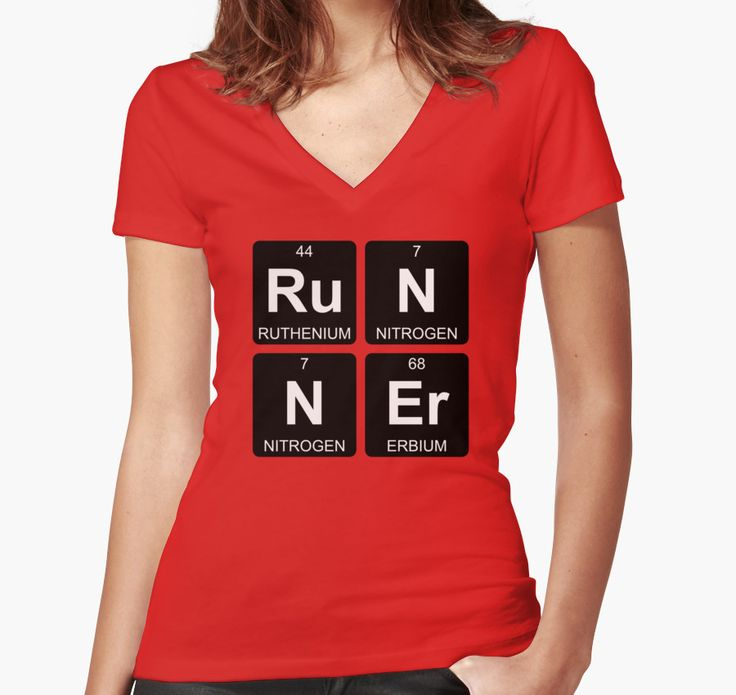 Ru N N Er - Runner - Periodic Table - Chemistry - Chest by Jenny Zhang • This collection showcases a clever use of symbols of the chemical elements to form a word. • Also buy this artwork on apparel, stickers, home decor, and more.