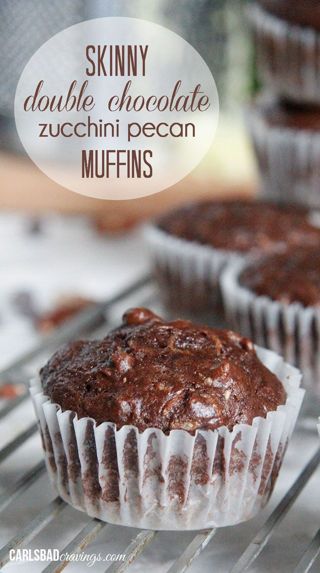 ZERO added fat - baked with applesauce and vanilla yogurt! So moist and chocolaty!
