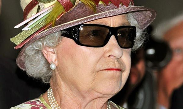 Elizabeth II's extravagant eyewear was designed by her dresser and personal assistant, Angela Kelly, who might have the most ridiculous job in the world.
