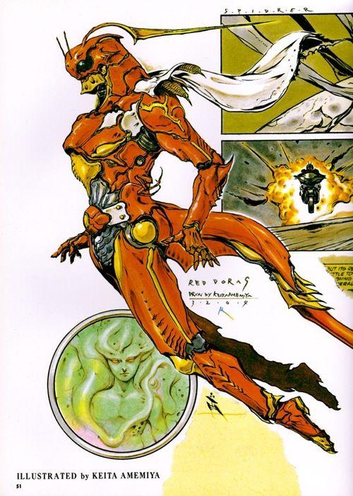 Keita Amemiya for Kamen Rider