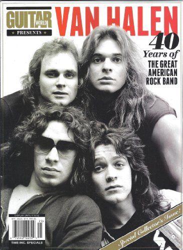 Detalles acerca de Mundo De Guitarra presenta Van Halen 40 años Great American…
