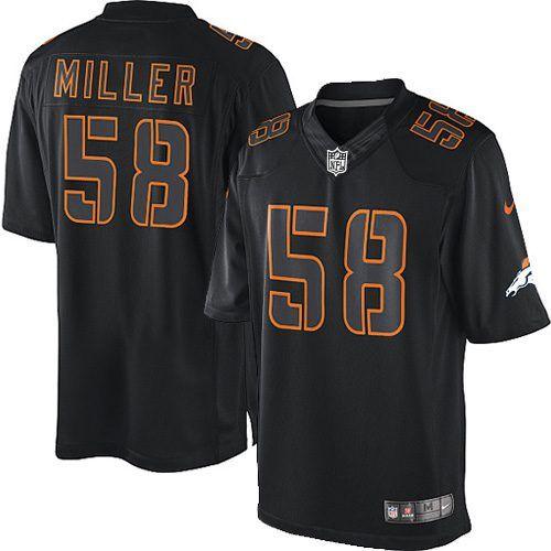 Von Miller Elite Jersey-80%OFF Nike Impact Von Miller Elite Jersey at Broncos Shop. (Elite Nike Youth Von Miller Black Jersey) Denver Broncos #58 NFL Impact Easy Returns.