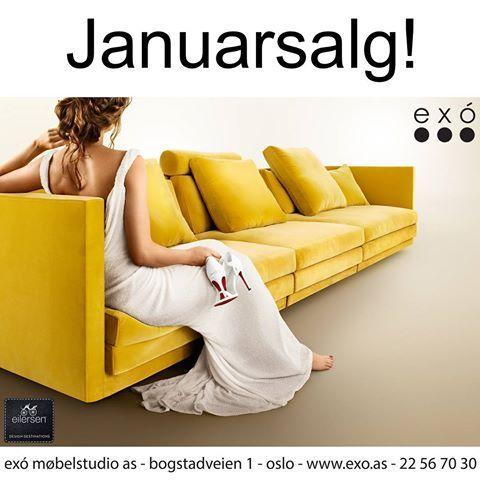 Januarsalget er i gang - velkommen til exó!😊  #exomobelstudio #designmøbler #design #møbler #tepper #belysning #interiør #interiørdetaljer #interiørdesign #bogstadveien #oslo #salg #januarsalg #sofa #spisebord #stoler #designdesire #inspohome #instainspo #boligmiljø #innredning #inspirasjontilhjemmet #inspo