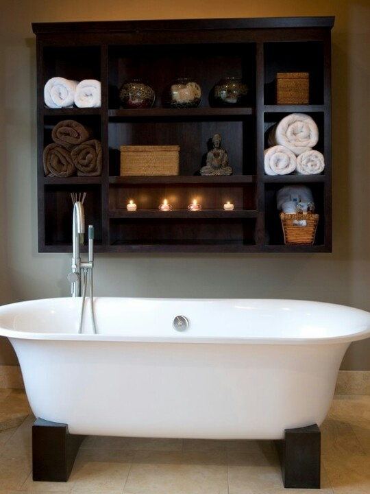 Best Spa Bath Images On Pinterest Bathroom Ideas Spa - Modern bath towels for small bathroom ideas