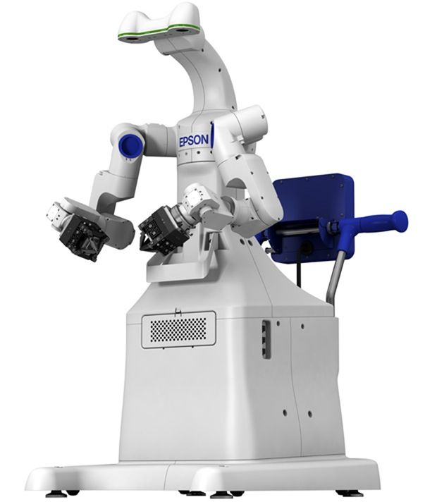 Seiko Epson Shows Off Its Dual-Arm Robot - IEEE Spectrum