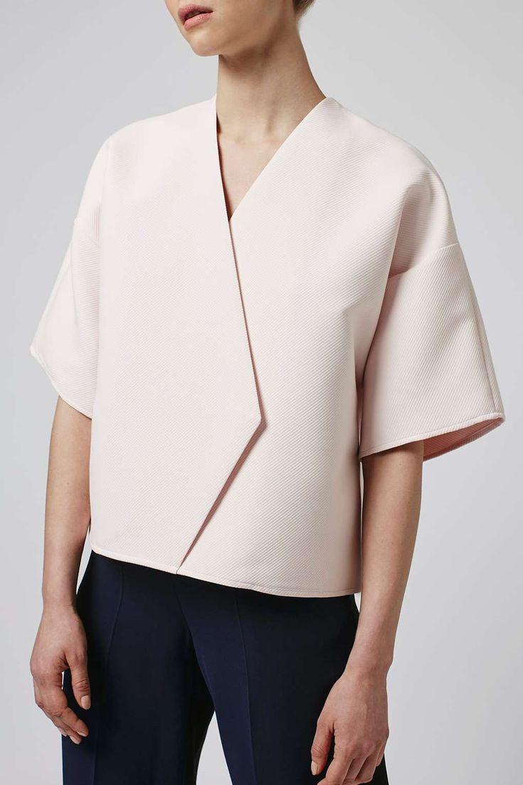 Ridge Kimono Wrap Top By Boutique - Tops - Clothing - Topshop USA
