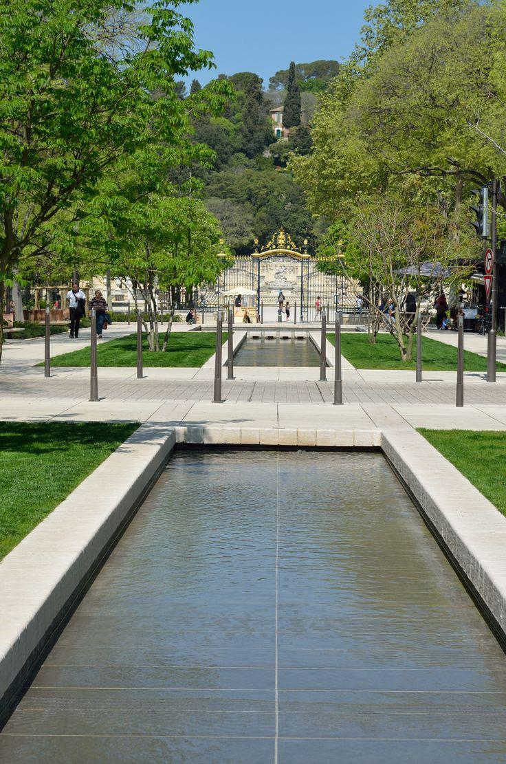 L 39 avenue jean jaur s qui remonte vers les jardins de la for Le jardin zen nimes