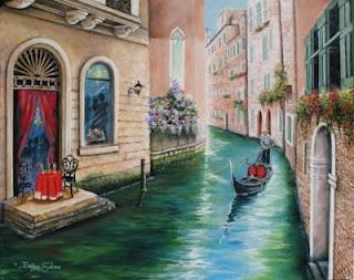 Romance in Venice by Debbie Salmon  http://www.debbiesalmon.com