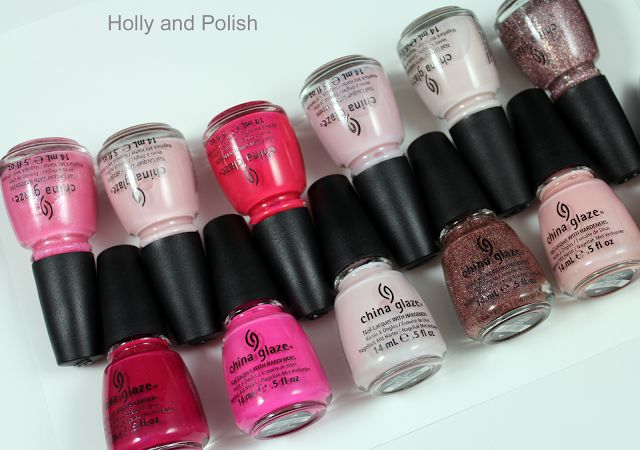 China Glaze Breast Cancer Awareness 2012 collection