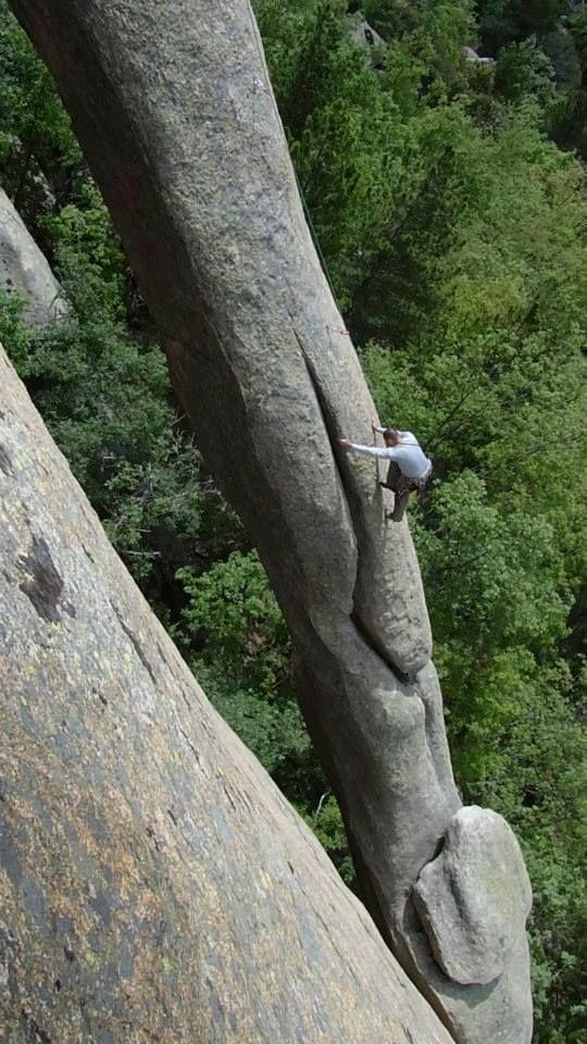I wanna climb it so badly! La Pedriza, Spain Rock Climbing... http://www.awesomehealthandfitness.com