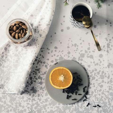 ferm LIVING - Splash cotton napkins