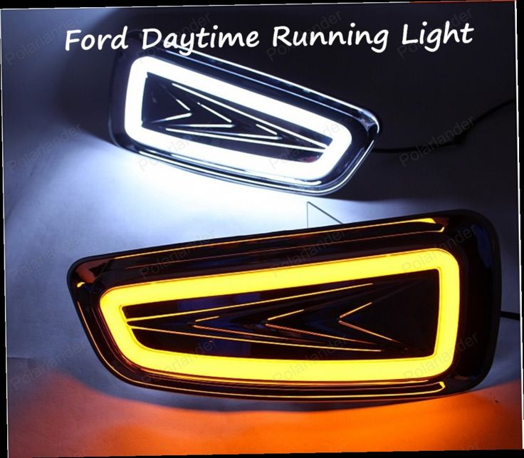 86.96$  Buy now - http://alitq6.worldwells.pw/go.php?t=32706576436 - Car Styling LED Fog Lamp for Ford F150 SVT Raptor 2009-2014 LED Daytime Running Light Fog Light Parking Signal Accessories