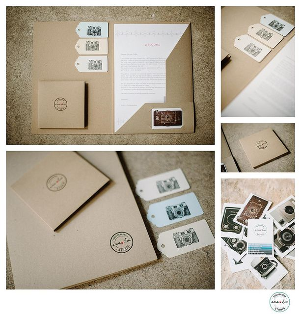 Letterpress folders, tags and CD sleeves photography packaging