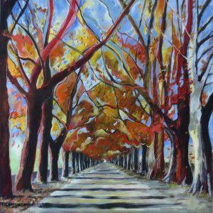 """""""Oak Ave"""" by Claudia Cooper"""