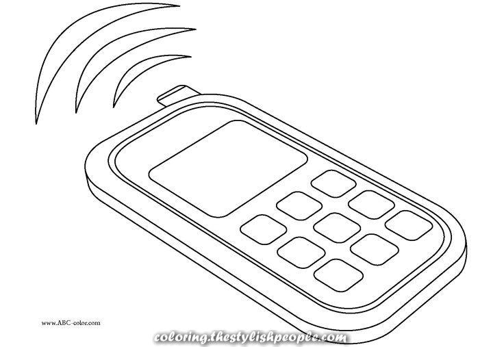 Cellular Dibujos De Telefonos Telefono Dibujo Telefono Antiguo