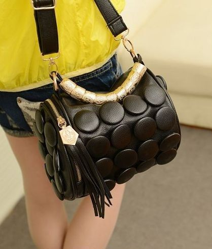 Bag Korea BJ4290-Black | Kaina Fashion