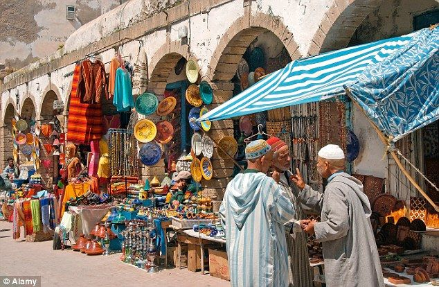 Morocco Market | The Malibu of Morocco: Making merry in Essaouira, the little port that ...