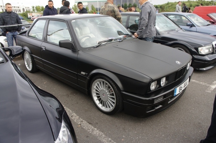 Bmw Matte Black Wrapped Pinterest Cas And