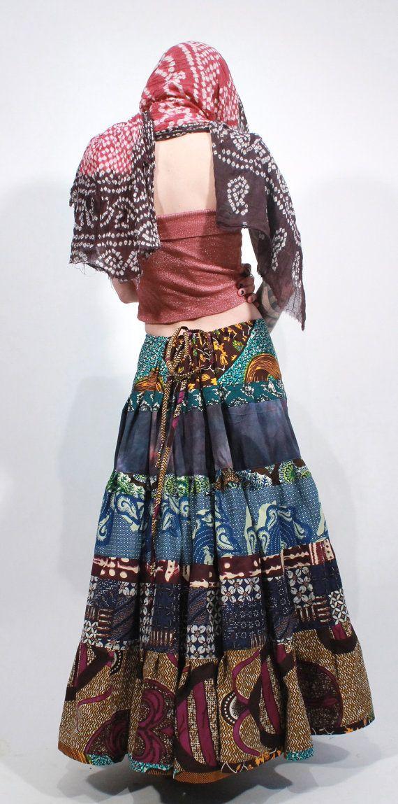 pretty tiered skirt