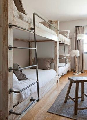 Dude.... these are made from doors.... for the bed board and middle and iron steps. How much would this cost to make