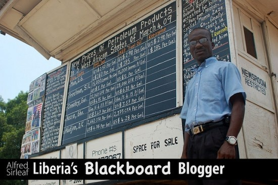 The Daily Talk – Liberia's Blackboard Newspaper