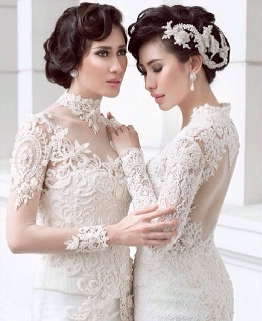 Angelic #white #kebaya #indonesian