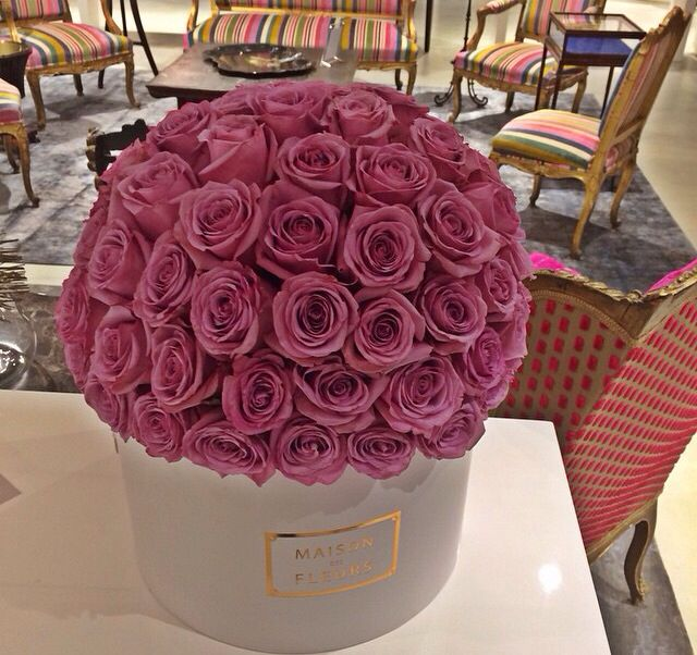 maison des fleurs pink roses the modern duchess. Black Bedroom Furniture Sets. Home Design Ideas