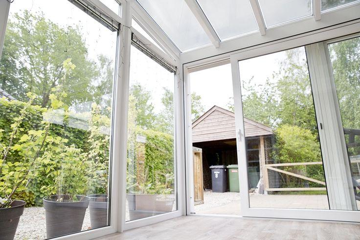 48 beste afbeeldingen over verbouwing huis op pinterest toiletten ramen en schuifdeuren - Veranda met dakpan ...