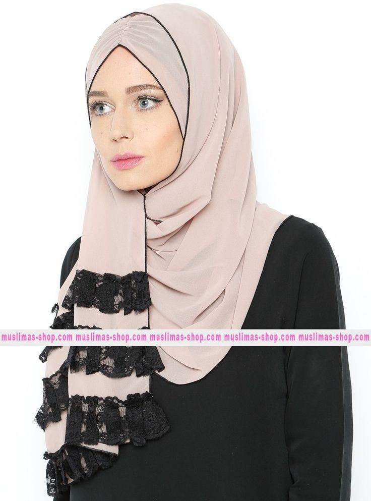 Abbigliameto Halal Islamico Negozio Online  #islamic #hijab #modest #fashion product  Instant hijab Scarf - Mink - Mahra - Fabric Info:  100% Polyester    Weight: 0.09 kg  Sizes:  Width: 56 cm  Height: 185 cm - SKU: 183080. Buy now at http://muslimas-shop.com/instant-hijab-scarf-mink-mahra183080.html