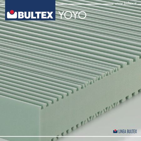 YOYO presenta ben sette zone di accoglienza differenziate, per ottimizzare il comfort e smorzare le pressioni che solitamente derivano dalle sollecitazioni diagonali che le forme del corpo esercitano sul materasso.
